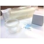 Funnels, 100ml, W/MCE-Membranes For Mics