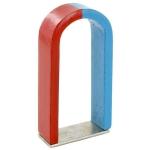 U-Shaped Magnet, Chrome Steel