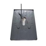 Squatting Plate, Plastic, W/o pan, 120x80cm