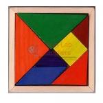 4 Color Tangrams